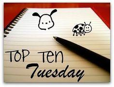 Top Ten Tuesday #16:I Dieci Libri Più Belli che ho letto prima di diventare Blogger