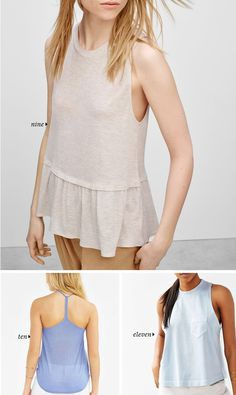 Big List of Not Basic, Everyday Essential Tank Tops