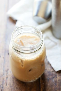 Milk and honey iced coffee
