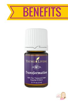 A powerful essential oil that empowers you to replace negative beliefs with uplifting thoughts, changing your overall attitude, emotions, and behavior.  Benefits of Transformation Essential Oil