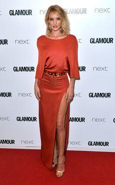 Glamour Women of the Year Awards 2015 Best Dressed- Rosie Huntington-Whiteley in Cushine et Ochs