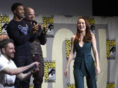 Anunciada como a Capitã Marvel, Brie Larson entra de surpesa no painel da Marvel na Comic-Con International: San Diego 2016 neste…