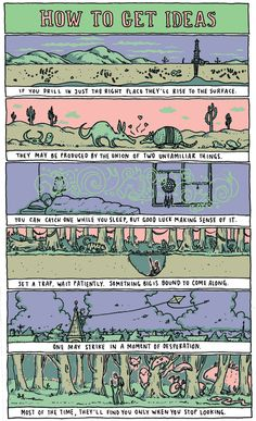 Sometimes we all need inspiration... Grant Snider's Great Comics on Art and Inspiration - My Modern Metropolis