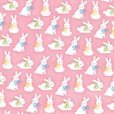 White bunnies on pink background Easter Art, Easter Crafts, Studio Scrap, Ostern Wallpaper, Scrapbook Paper, Scrapbooking, Easter Backgrounds, Easter Printables, Pink Paper