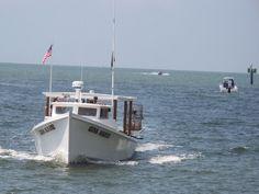 Workboat returns to port