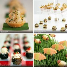 Mac & Cheese hors d'oeuvres, Callahan Catering