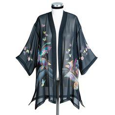 Butterflies Silk Jacket $69.98