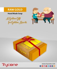 A Golden gift for golden hearts!  Trycone Handmade Raw Gold 100 Gm Pack Of 1 Soap  Buy here: https://www.amazon.in/dp/B073TZV2VV/ref=cm_sw_r_wa_apa_i_m-rUzbP013C3S  #rawgold #handmade #soap #goldengift #for #goldenheart #tryconegroup #makeinindia #madeinindia