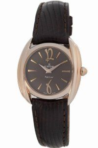 Edox Women's 21230 37R BRIR First Lady Leather Watch