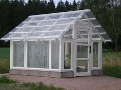 """See our web site for additional details on """"greenhouse design ideas"""". It is an outstanding area to get more information. Best Greenhouse, Backyard Greenhouse, Greenhouse Plans, Garden Buildings, Garden Structures, Hot House, Garden Studio, Small Space Gardening, Cabins And Cottages"""