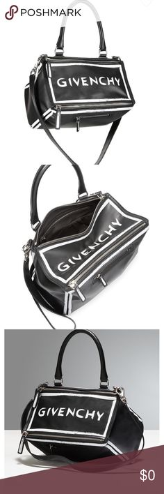 Givency bag A black and white beautiful Givenchy bag 💼 Givenchy Bags Shoulder Bags