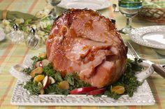 Farmhouse Glazed Ham | MrFood.com