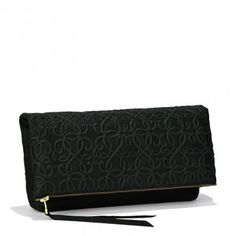 Alex & Ani Fold Over Clutch in Forest