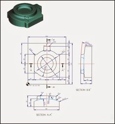 Starlet's CAD Drawing Exercise Blog: 3D CAD Exercise - Part design 3