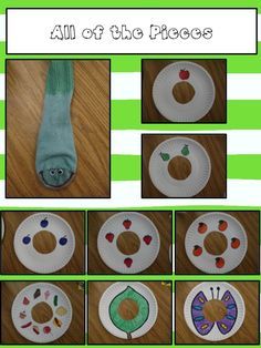 The Very Hungry Caterpillar story retelling