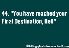 Can't help but go along with Zak and do the whole intro to Ghost Adventures. ..