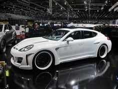 porsche panamera - Porsche Panamera Black And White