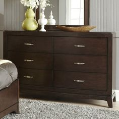You'll love the Loveryk 6 Drawer Double Dresser at Wayfair - Great Deals on all Furniture products with Free Shipping on most stuff, even the big stuff.