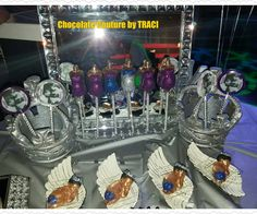 Chocolate Couture by TRACI.. . Babyshower display (Royal Theme)