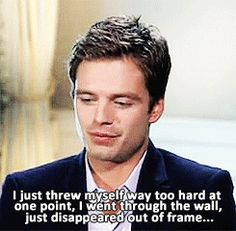 I am becoming more and more convinced that Seb is almost as clumsy as I am. I love this dork. ^-^