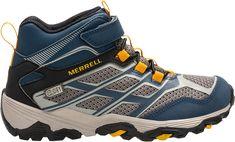 b00e2af17406 Merrell Kids  Moab FST Mid AC Waterproof Hiking Boots