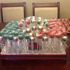 Great idea for any mexican themed party!!