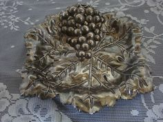 vintage HEAVY silverplate Tarnish  silver by pureblisscottage