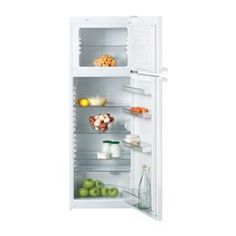 Buy Miele Frost Free Top Mount Freestanding Fridge Freezer - White from Appliances Direct - the UK's leading online appliance specialist Freestanding Fridge, Kitchen Set Up, White Appliances, Wire Shelving, Glass Shelves, Ice Cube Trays, Bathroom Medicine Cabinet, Freezer