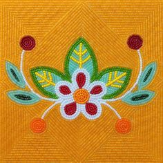 Today's work 🙂🌸💐🌹🌷 Today's work 🙂🌸💐🌹🌷 Native Beading Patterns, Bead Embroidery Patterns, Beadwork Designs, Native Beadwork, Native American Beadwork, Beaded Embroidery, Cross Stitch Embroidery, Nativity Crafts, Beading Projects