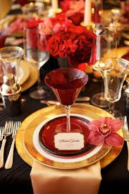 Image result for sophisticated  gold red wedding