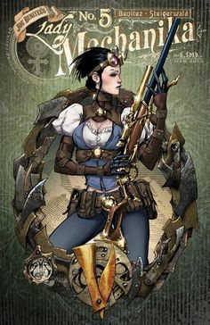 Couverture de Lady Mechanika (2010) -5A- The Mystery of the Mechanical Corpse 5