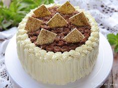 Tort cu crema de ciocolata - Desert De Casa - Maria Popa Something Sweet, Tiramisu, Caramel, Cheesecake, Sweets, Cookies, Ethnic Recipes, Desserts, Food