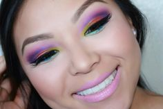 Amazing Rainbow Shadow by y0urgirlmc on the #Sephora Beauty Board