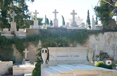 Cemetery in Greece