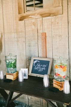 Gorgeous California Wedding with Rustic Charm onelove photography www.onelove-photo.com Stephanie and Daniel Freckled Florals Reinstein Ranch Take a Sip before you Sit