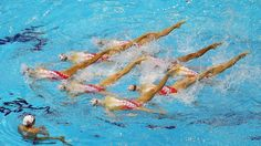 Olympic Synchronised Swimming Photos - Synchronised Swimming Photo Galleries | London 2012