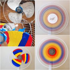How to DIY Creative Rainbow Fan | iCreativeIdeas.com Follow Us on Facebook --> https://www.facebook.com/icreativeideas