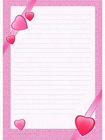 A imprimer un papier lettre pour la f te des m res - Lettre a colorier et a imprimer ...