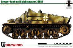 Grosser Funk und Befehlspanzer 38H(f)