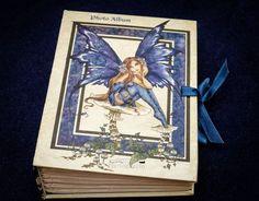 Amy Brown Fairies Photo Album Blue Fairy