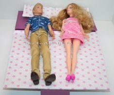 Barbie kinyitható kanapé elkészítési leírással/Barbie sofa bed tutorial