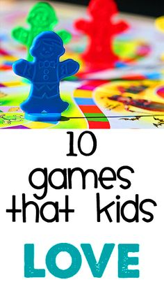 10 games that kids will love! Add Let's Potty! the potty training board game lets-potty.com