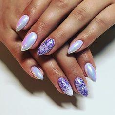 This beautiful soul got some summer fresh claws today. ✨ #studios #akzentz #gelpolish #purple #luxio #gelnails #nails #kamloopsbusiness #kamloopsnailtech #kamloopsnails #kamloops #beautifulgelnails #glitternails #summernails