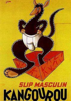 Slip kangourou , 1950