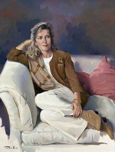 Ricardo Sanz is a Spanish* Portrait painter and Landscapist. For biographical notes and early works by Sanz see Ricardo Sanz, 1957 Acrylic Portrait Painting, Painting & Drawing, Portrait Paintings, Oil Paintings, Spanish Painters, Spanish Artists, L'art Du Portrait, Portraits From Photos, Western Art