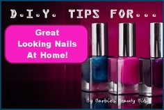 Checkout all these DIY tips on how your can craft the best nails at home, by Barbie's Beauty Bits! #nails, #DIY, #Tips, #beauty