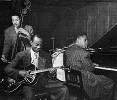 Slam Stewart, Tiny Grimes, Art Tatum, 1944 Jazz Artists, Jazz Musicians, Art Tatum, Swing Era, Cool Jazz, Duke Ellington, Jazz Club, Band Pictures, Blues