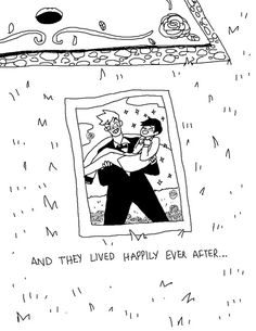 And they lived happily ever after. Gay Comics, Short Comics, Cute Comics, Funny Comics, Pretty Boy Comic, Pretty Boys, Manga Anime, Another Anime, Cute Gay Couples