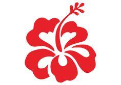 Vector logo download free: Hibiscus flower Logo Vector