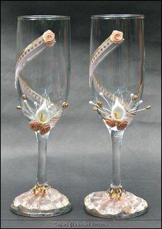 copas de boda decoradas - Buscar con Google